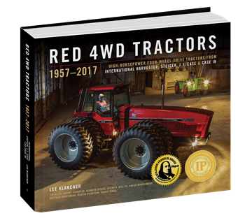 Picture of Red 4WD Tractors