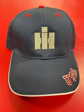 Picture of Silver IH Embroidered USA Hat